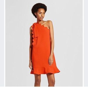 Victoria Beckham for Target Orange Dress 3x NWOT